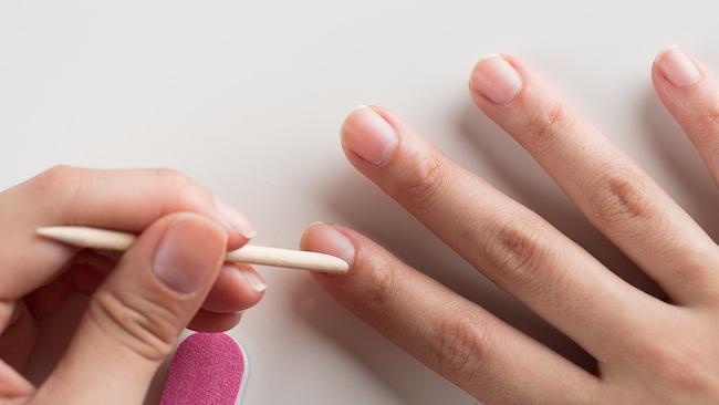 Nail gel polish, photo