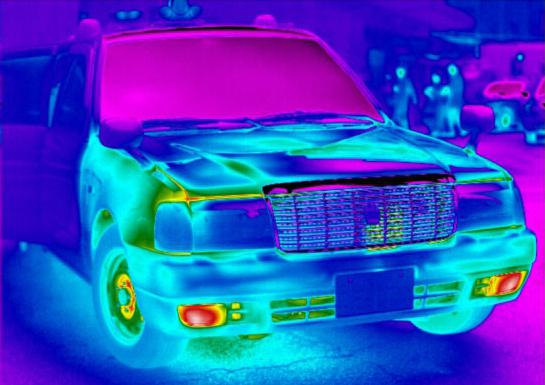 Using a thermal imager