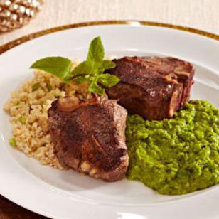 pea with meat