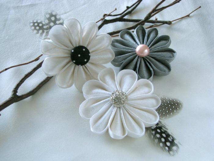 Мастер-класс: цветы из лент. Цветы из лент своими руками