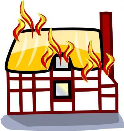House Fire Clipart - fedinvestonline