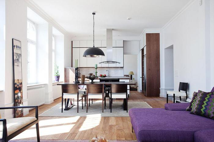 design of small apartments Khrushchev