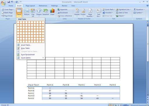 Как сделать продолжение таблицы на следующей странице в ворде