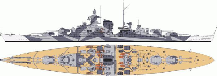 Battleship Tirpitz Battle Story