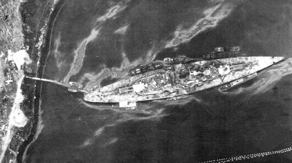 battleship giant tirpitz
