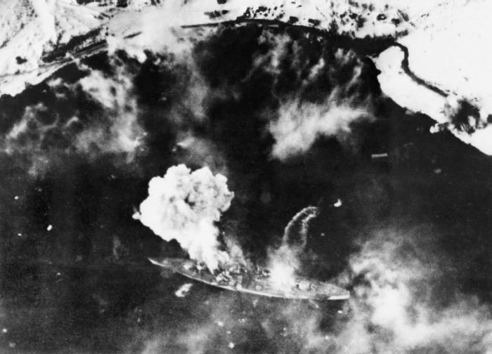 the fate of the battleship Tirpitz