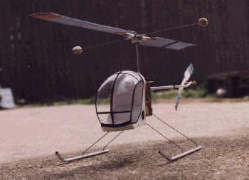 Вертолет в домашних условиях фото