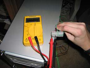 how to check the power supply