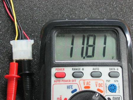 how to check the power supply with multimeter
