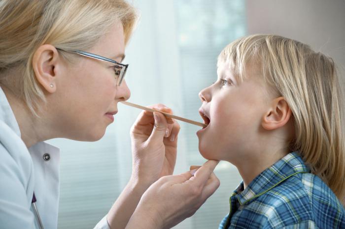 Ангина у детей - симптомы и лечение ангины у ребенка, чем и