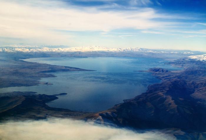 depth of lake sevan