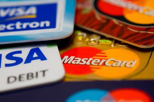 bank debit card