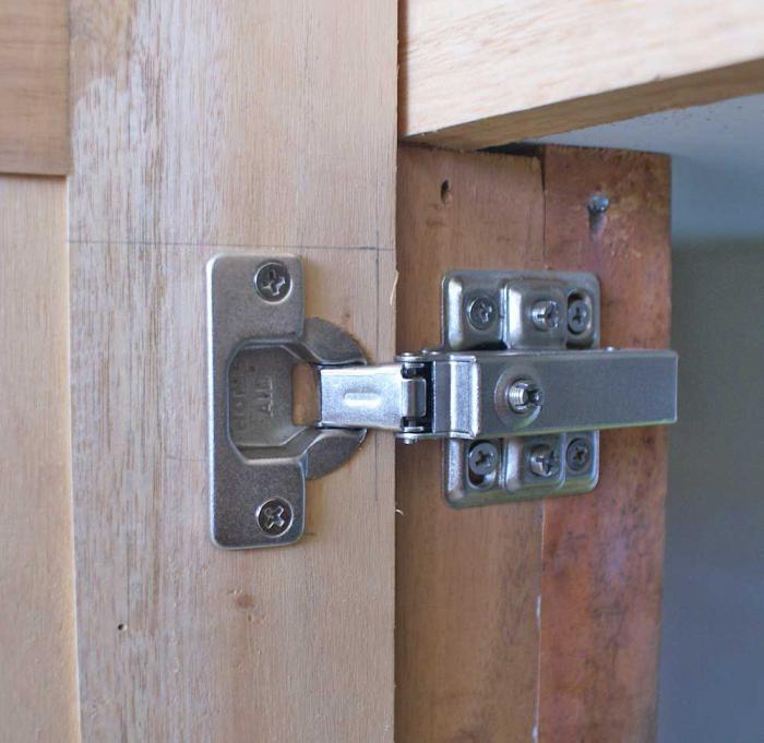 Петли для дверей, их виды и способы установки