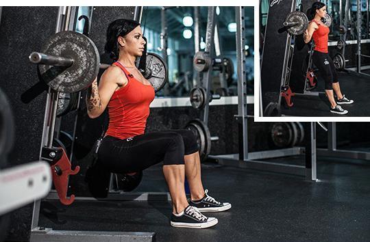 Упражнения для бодибилдеров женщин thumbnail