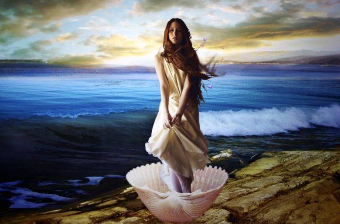 афродита фото богиня любви