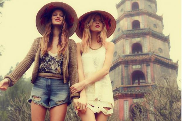 boho style in clothes photo
