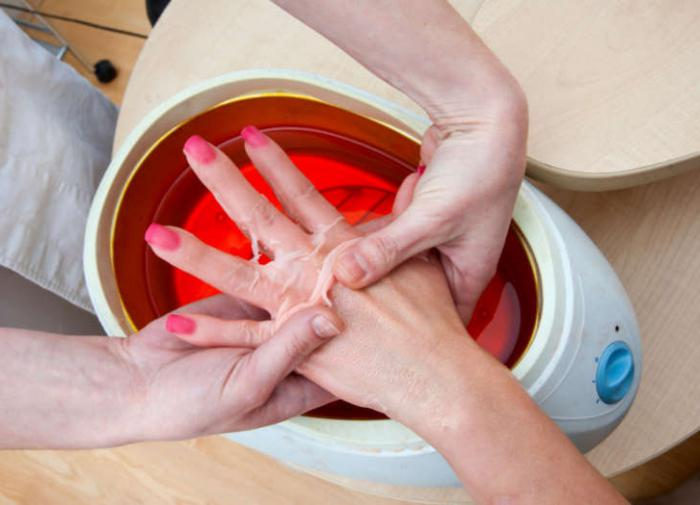 paraffin for hands and feet