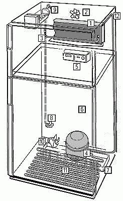 refrigerator Atlant two-chamber