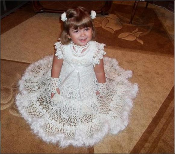 Платья из платков своими руками для девочек