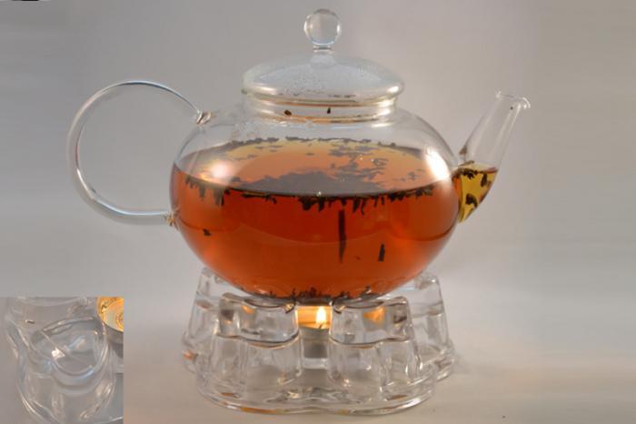 чайник со свечой подогрев