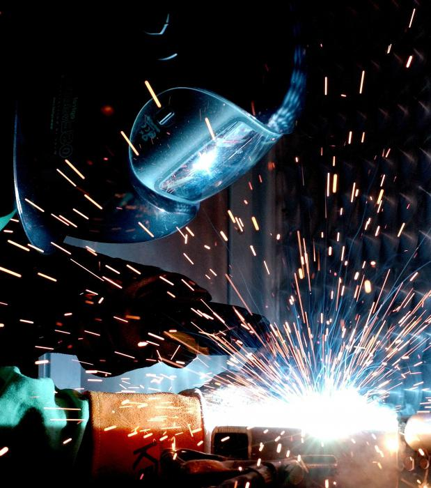 Welding stainless steel semi-automatic