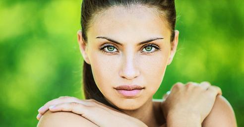 Зеленый цвет глаз самый редкий