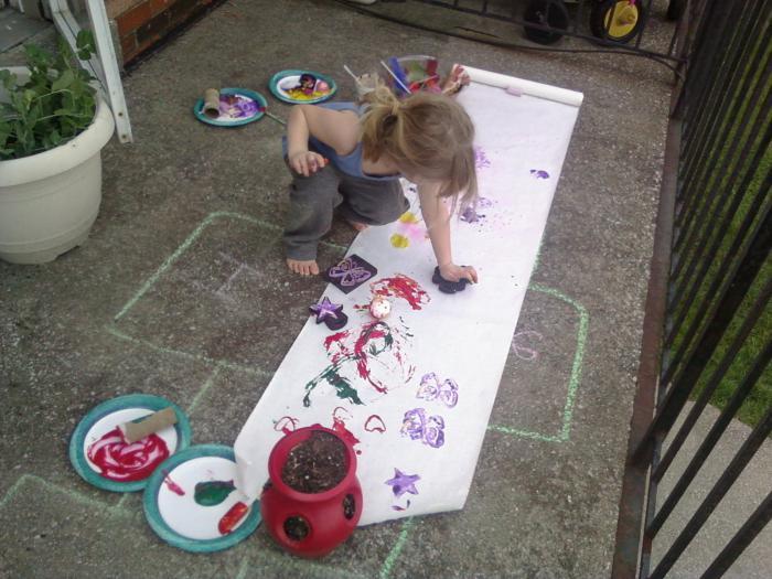 детского техники рисунка рисования