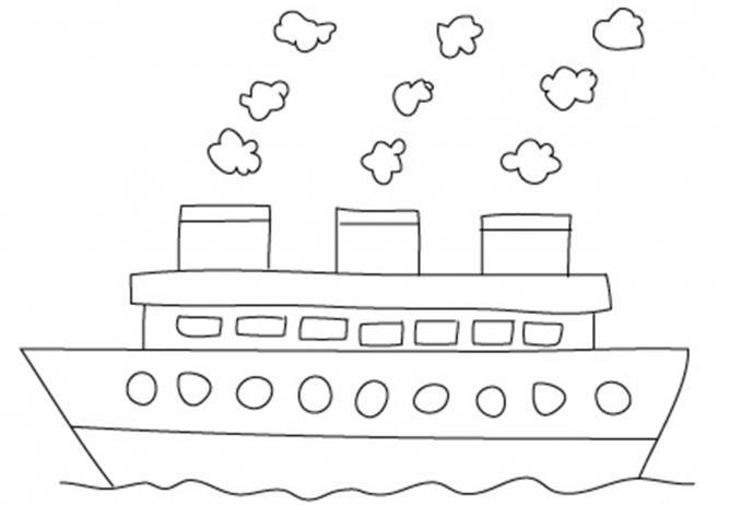 736199 Как нарисовать праздничный Парад военных кораблей на Параде Победы? Как нарисовать военный корабль карандашом и красками для ребенка поэтапно?    Класс Рисуем корабль в рукодельной энциклопедии Pro100hobbi