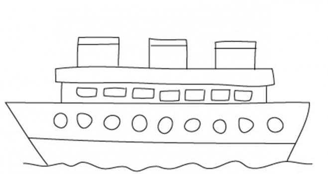 736200 Как нарисовать праздничный Парад военных кораблей на Параде Победы? Как нарисовать военный корабль карандашом и красками для ребенка поэтапно?    Класс Рисуем корабль в рукодельной энциклопедии Pro100hobbi