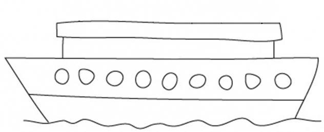736202 Как нарисовать праздничный Парад военных кораблей на Параде Победы? Как нарисовать военный корабль карандашом и красками для ребенка поэтапно?    Класс Рисуем корабль в рукодельной энциклопедии Pro100hobbi