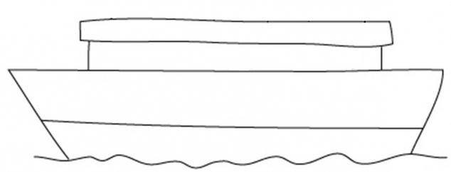 Как поэтапно нарисовать пароход карандашом поэтапно