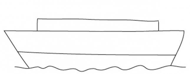 736204 Как нарисовать праздничный Парад военных кораблей на Параде Победы? Как нарисовать военный корабль карандашом и красками для ребенка поэтапно?    Класс Рисуем корабль в рукодельной энциклопедии Pro100hobbi