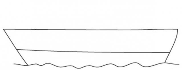 736205 Как нарисовать праздничный Парад военных кораблей на Параде Победы? Как нарисовать военный корабль карандашом и красками для ребенка поэтапно?    Класс Рисуем корабль в рукодельной энциклопедии Pro100hobbi