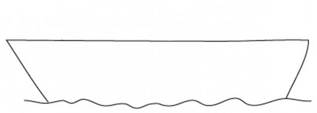 736207 Как нарисовать праздничный Парад военных кораблей на Параде Победы? Как нарисовать военный корабль карандашом и красками для ребенка поэтапно?    Класс Рисуем корабль в рукодельной энциклопедии Pro100hobbi