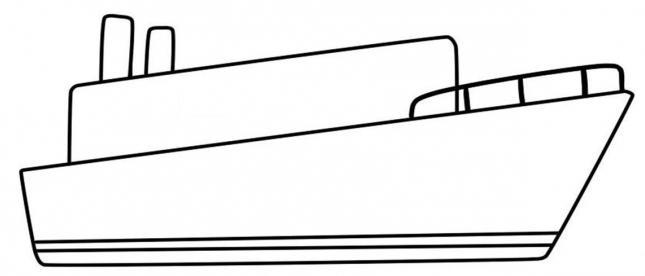 736225 Как нарисовать праздничный Парад военных кораблей на Параде Победы? Как нарисовать военный корабль карандашом и красками для ребенка поэтапно?    Класс Рисуем корабль в рукодельной энциклопедии Pro100hobbi