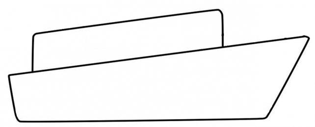 736228 Как нарисовать праздничный Парад военных кораблей на Параде Победы? Как нарисовать военный корабль карандашом и красками для ребенка поэтапно?    Класс Рисуем корабль в рукодельной энциклопедии Pro100hobbi