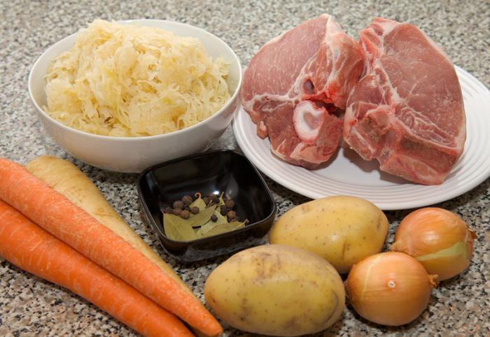 cabbage soup sauerkraut multicooker