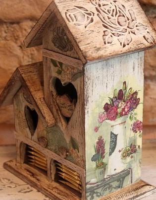 заготовки чайные домики для декупажа