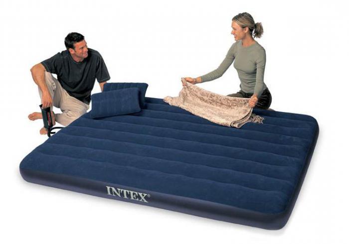 матрас кровать надувной