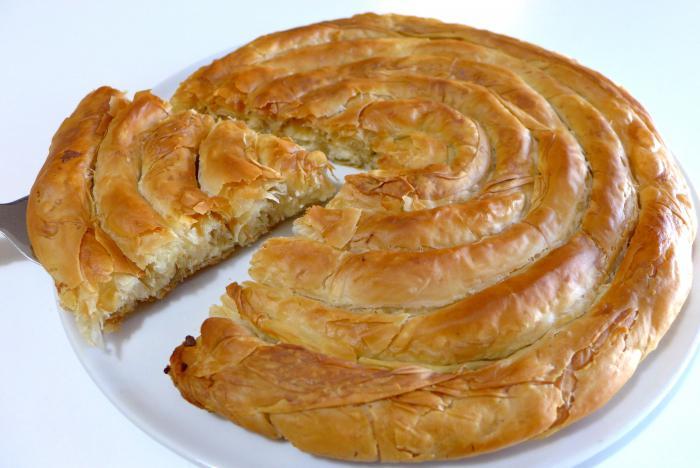 Слоеный пирог улитка рецепт с
