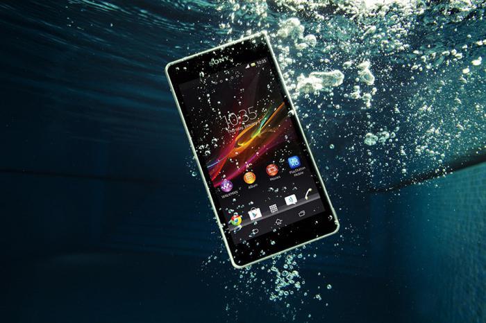 смартфон sony водонепроницаемый