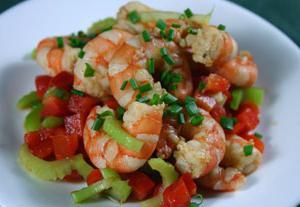 tasty shrimp dish