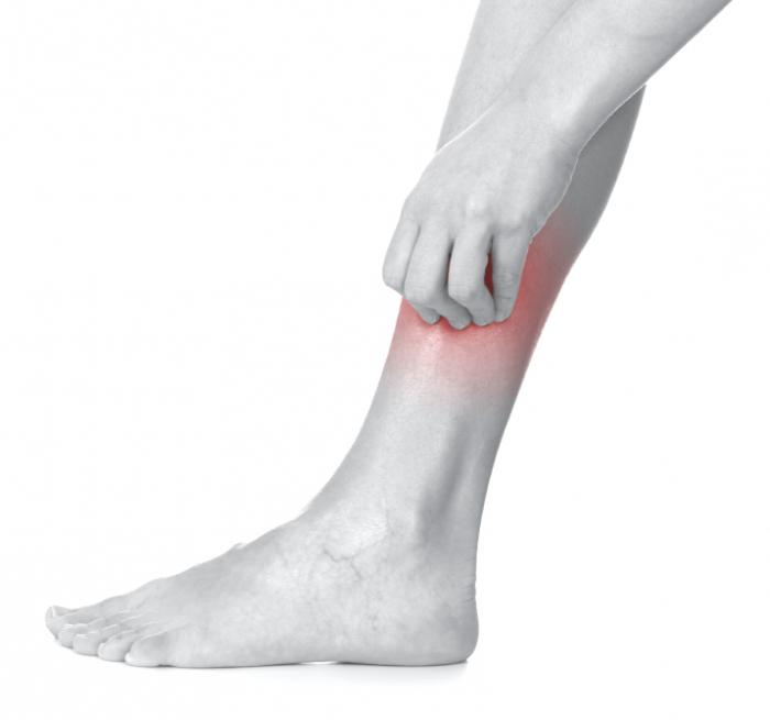 сухая экзема при диабете на ногах