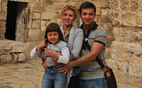 Vladimir Zelensky family biography