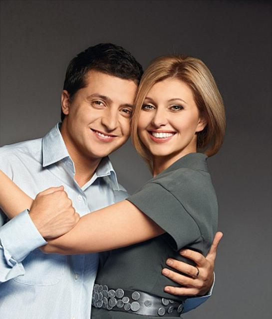 Vladimir Zelensky wife biography