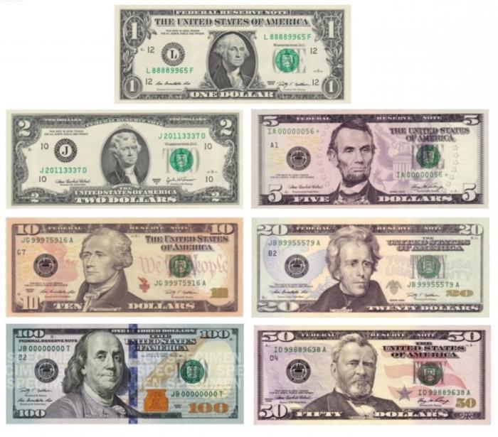 все хозяева номинал долларовых банкнот картинки литературе так