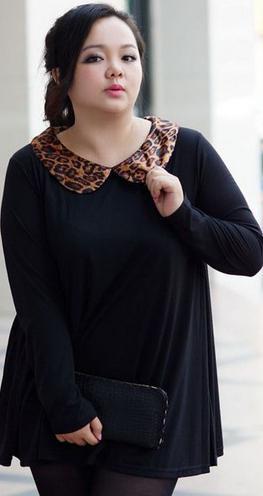 Блузки для толстых