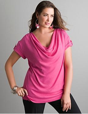 Красивые блузки для полных женщин