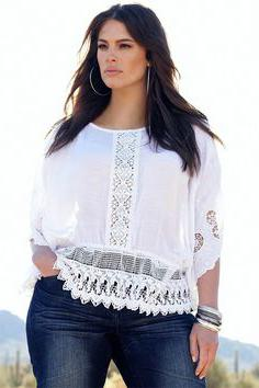 summer blouses for obese women