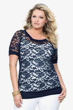 models of blouses for obese women